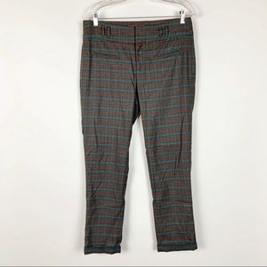 Anthropologie Cartonnier Charlie Trousers Plaid